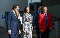 Doña Letizia asiste a una ponencia sobre enfermedades raras