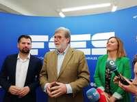 Luis Tudanca se reúne en FOES para abordar la despoblación