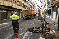 Arrancan las obras de la calle Olivo