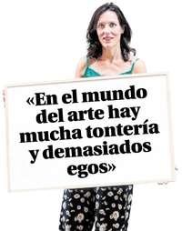 Ana Doldán, directora del Museo de Arte Contemporáneo Esteban Vicente.
