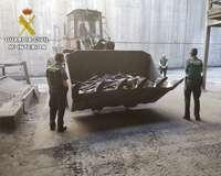 La Guardia Civil destruyó cerca de 6.000 armas en una década