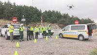 Los drones de la DGT llegan a Segovia
