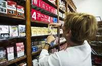 La venta de tabaco repunta por primera vez desde el año 2011