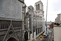 El andamio sobre Notre Dame amenaza con el derrumbe de la seo