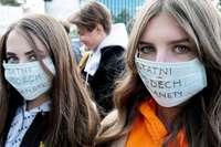 Los jóvenes y los estudiantes lideran la huelga climática