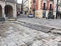 El PP denuncia la falta de accesibilidad de la plaza Mayor