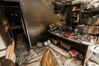 Controlado un incendio en unas oficinas de Victoria Balfé