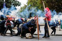 Los disturbios no cesan en Santiago de Chile