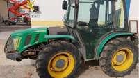 Roban un tractor en Segovia y lo encuentran en San Cristóbal