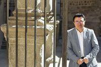 El concejal de Cultura, Educación y Patrimonio Histórico, Teo García