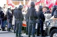 La 'ley Mordaza' generó 860 multas en la provincia en 2018