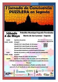 Segovia acogerá una Jornada de Convivencia Puzzlera