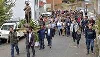 El Hoyo recupera la procesión de San Isidro