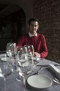 Enrique Mata, presidente de los hosteleros.