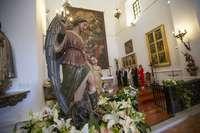 Toledo custodia al Ángel