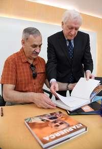 Bermúdez de Castro donará sus fotos a la Fundación Atapuerca
