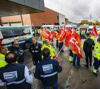 SSG retira el ERTE en las ambulancias de Ciudad Real
