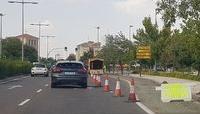 La obra en avenida de Salamanca arranca por el carril bici