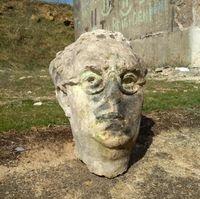 Localizada la cabeza de la estatua de Yagüe robada en 2008