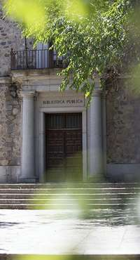 IU se interesa por la antigua Biblioteca de Toledo