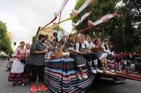 La Cabalgata de Feria contará finalmente con 59 carrozas