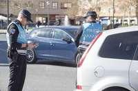 Tres conductores, heridos en dos accidentes de circulación