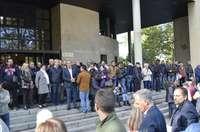 Apoyo desde Segovia a la actuación policial en Cataluña