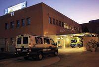 Trasladada al hospital una mujer en Manzanares tras incendio