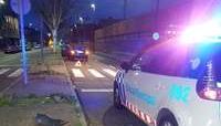 Un conductor ebrio derriba un semáforo en Farnesio
