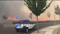 El incendio junto a Río Shopping calcinó doce hectáreas