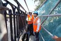 La intervención en el Puente Mayor concluirá en octubre