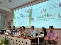 300 alumnos dan  visibilidad a la escuela rural en Paredes