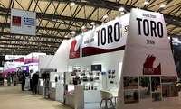 Expositor de la Denominación de Origen Toro en la feria Prowine Asia.