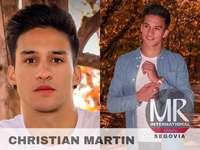 Christian Martín aspira al título de más guapo de España