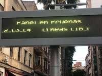 Sin información en las paradas de autobús