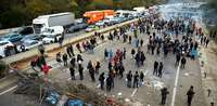 El bloqueo de La Junquera cuesta medio millón de euros