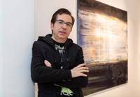El artista Alberto Reguera, en la Bienal de Pekín