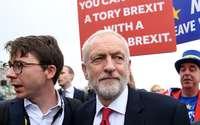 Corbyn tiene en mente un segundo referéndum sobre el Brexit