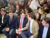Discurso en clave municipalista de Pablo Casado en Soria