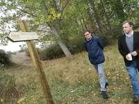 Nueva senda en Garray para disfrutar del Duero