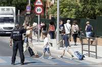 El Ayuntamiento repinta 90 pasos de peatones en Toledo