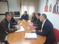 El PSOE de Segovia se reúne con los sindicatos de prisiones