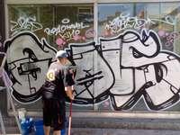 Las denuncias por hacer grafitis suben un 70% en seis meses