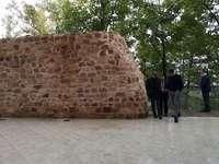 Paradores recupera un tramo de la muralla de Soria