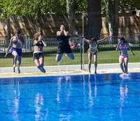 Un 10% menos de bañistas en las piscinas municipales