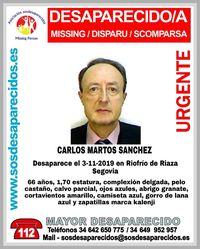 Buscan a un hombre desaparecido en Riofrío de Riaza
