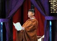 Naruhito ocupa el Trono del Crisantemo entre ritos milenario