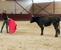'El Gallo' tienta en la ganadería de Eduardo Flores