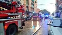 Dos heridos por inhalación de humo en un incendio