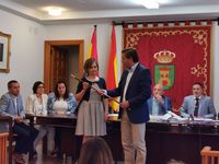 La 'popular' Elia Jiménez, alcaldesa de Ólvega